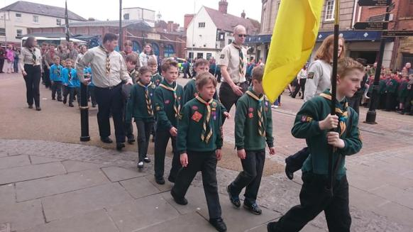 St Georges Day Parade 20th Worcester