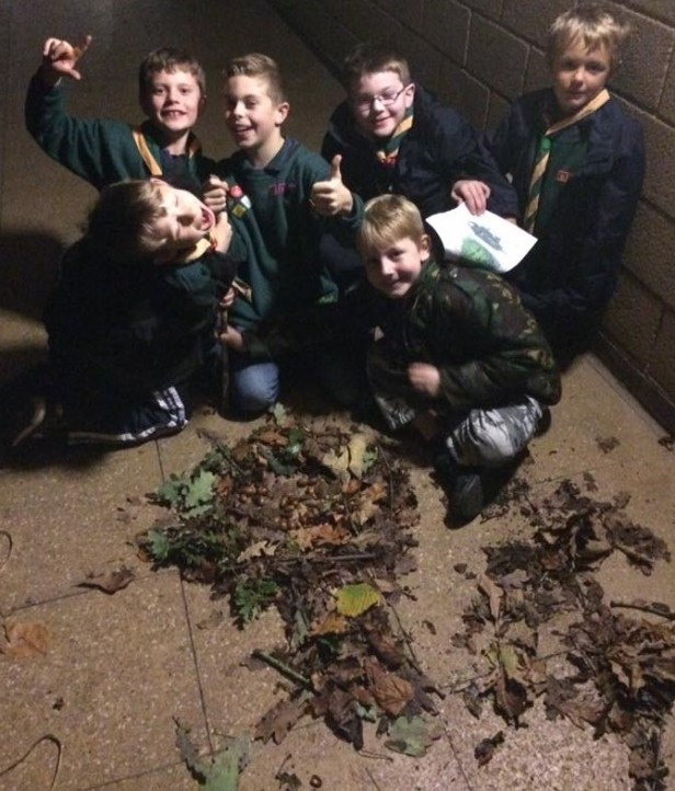 Cubs make their own Green Man
